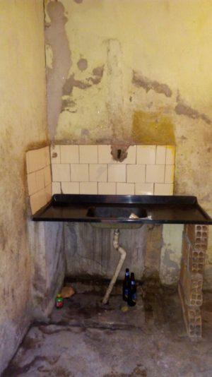 cozinha precária
