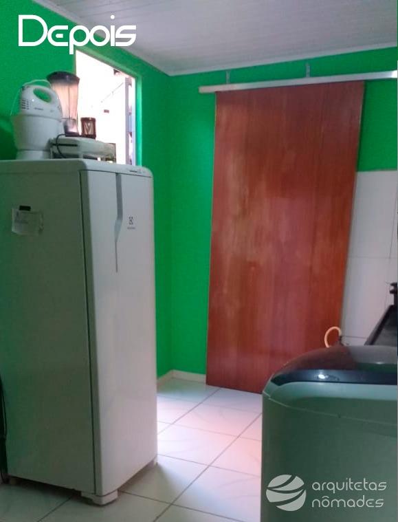 Cozinha salubre